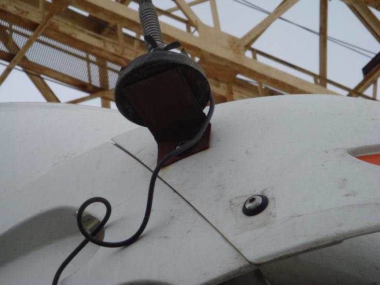 Неправильная установка магнитной антенны